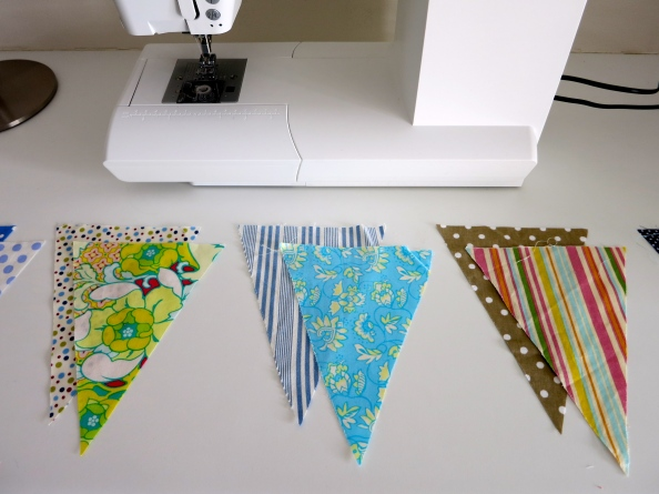 Bunting just cut