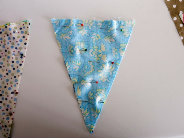 Pinned bunting