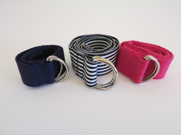 Twill and ribbon belts