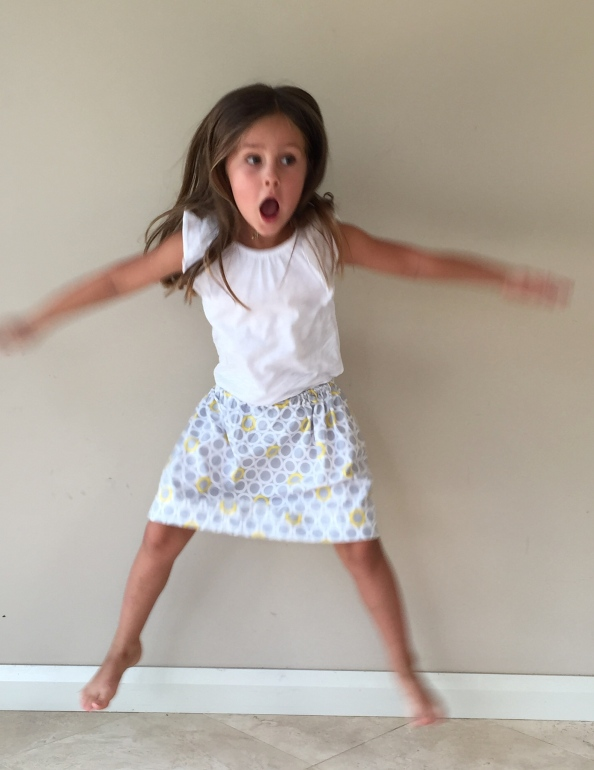 Simple skirt jump
